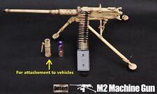 US Military 1/6 Figure M2 .50 cal Browning Machine Gun Iraq Desert G_8031B