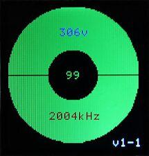 OEIL MAGIQUE ELECTRONIQUE  -  ELECTRONIC TUNING INDICATOR - EM34, EM 4, 6AF7,...