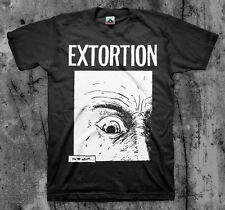 EXTORTION 'eye' T shirt Spazz Infest Drop Dead Hirax