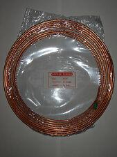 """3/16"""" Copper Brake Pipe Choose Length from 25cm to full 7.6 Metre Reel FREEPOST"""