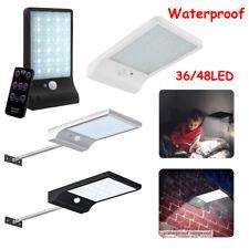 36/48 LED Security Solar Spot Light Motion Sensor Waterproof Lamp Outdoor Garden