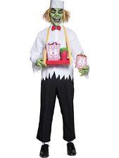 Costume Carnevale Halloween Adulto Zombie Venditore Dolci Horror Smiffys *08988