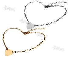 Golden Color/Silver Color Sweet Lovely Heart Anklet Foot Adjustable Chain