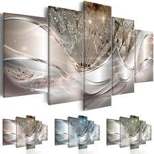 Wandbilder xxl Pusteblume Abstrakt Leinwand Bild Wohnzimmer Design a-C-0087-b-n