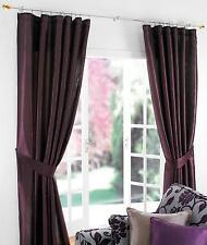 """purple curtains pencil pleat 46"""" x 54"""" 66"""" x 54"""" 66"""" x 72"""" 90"""" x 90"""""""