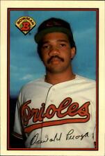 1989 Bowman Tiffany Baseball  #'s 1-250 - You Pick - Buy 10+ cards FREE SHIP