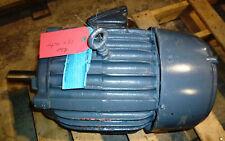 US Electrical Motors 215T Frame 10hp 230/460v3485rpmREB