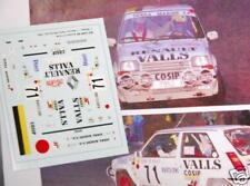 DECAL CALCA 1/43 RENAULT 5 GT TURBO J. GUINOVART RALLY MONTE CARLO 1990