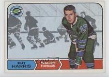1968-69 Topps #80 Billy Harris Oakland Seals Hockey Card