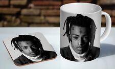 xxxtentacion BW RIP Tea / Coffee Mug Coaster Gift Set