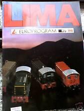 Catalogo treni LIMA Europrogram 1991