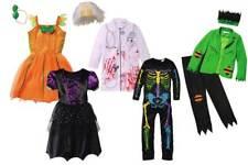 Halloween Kinder Kostüm Jungen Mädchen Fasching Verkleidung Hexe Monster Skelett