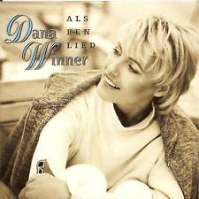 DANA WINNER - als een lied CD SINGLE 2TR CARDSLEEVE 1997 RARE Belgium