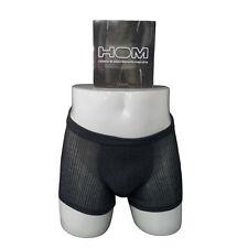 HOM boxer uomo nero 90% micromodal 10% elastane mod ZEN MAXI
