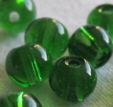 2 confezioni da 50 Perline Vetro Rotondo 4 mm