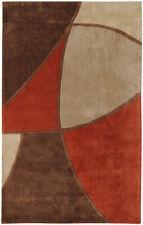 Surya Brown Modern Area Rug Abstract COS-8887