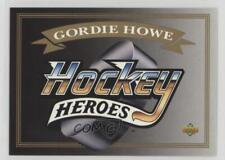1992-93 Upper Deck Hockey Heroes #N/A Gordie Howe Detroit Red Wings Card