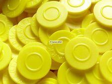 Pfandmarken, Getränkemarken, Biermarken, Wertmarken, Pfand, Event | Farbe: gelb