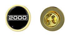 Triumph 2000 Logo Clutch Pin Badge Choice of Gold/Silver
