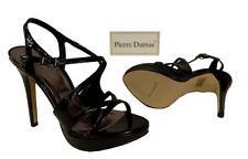 New Women's Pierre Dumas Platform High Heels Patent Leather Black Belinda-27