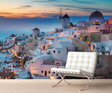 Santorini Grecia Mural De Pared Foto wallpaper imagen simplemente Peel & Stick! 1062