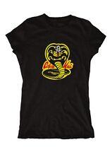 Cobra Kai Logo Girlie Karate Fun Kult MMA Miyagi K1 Boxen Kid Kung Fu Kick