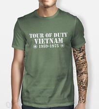 Tour Of Vietnam Tshirt Mens Womens Shirt Tee Service Hipster Camo War Army Duty