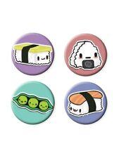 Juicy Sushi Badge Pack