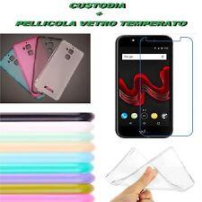 Custodia Cover Gomma Vari Colori per UPulse U Pulse Lite Wiko + Pellicola Vetro