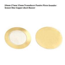 20Pcs 27Mm Piezo Elements Sounder Sensor Trigger Drum Disc+Wire Copper cp