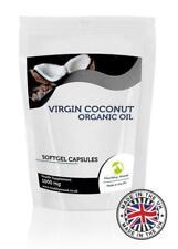 Coconut Oil Virgin 1000mg Softgel Capsules GB