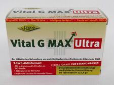 Dr. Hittich Vital G Max ULTRA, 1/2/3/6x 90 Tabl., L-Citrullin, L-Arginin, 02/20
