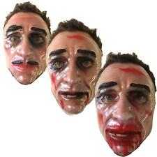 The Purge Plastic Transparent Face Mask, Male/Female, Halloween/Film Fancy Dress