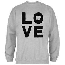 Autumn Bear Love Mens Sweatshirt