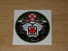 "Marco Simoncelli 58 ""ciao marco"" sticker 7cm"
