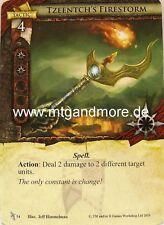 Warhammer Invasion - 1x Tzeentch's Firestorm  #054