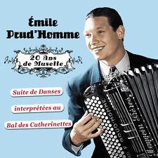 CD Emile Prud'homme et son orchestre : 20 ans de musette