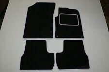 Citroen DS3 2010 onwards black tailored car mats C54 COLOURED BINDING