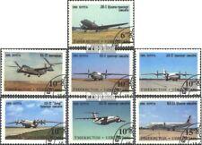 Usbekistan 77-83 (kompl.Ausg.) gestempelt 1995 Flugzeuge aus Tschkalow-Werk EUR