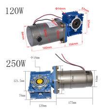 High-torque DC Worm Gear Motor 12/24/90Vdc 120W/250W RV030 040 Gearbox DC Motor
