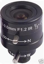 4- 9MM CCTV Camera Lens man-Iris Vari-Focal board IR