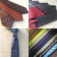 NEW Bespoke Handmade Italian Silk Necktie Made to Order Choose Fabric 3 / 7 Fold