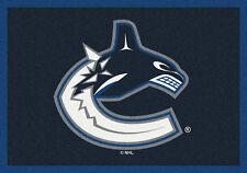 "5x8 Milliken Vancouver Canucks Sports NHL Spirit Area Rug - Approx 5'4""x7'8"""