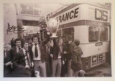Trevor Francis & Peter Shilton Signed Nottingham Forest European Cup Photo 16x12