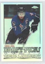 1999-00 Topps Chrome Refractor #252 Jamie Lundmark Moose Jaw Warriors (WHL) Card