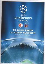 PRG    Ch.League   07/08  SLAVIA PRAG - STEAUA BUKAREST