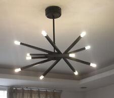 black/white/chrome LED crystal ceiling light Restaurant bedroom pendant lamp NEW