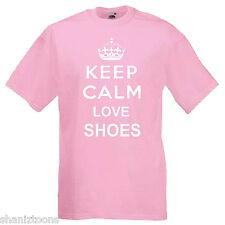 Keep Calm Love Shoes Children's Kids T Shirt