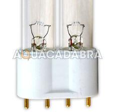 Uv lampe 18w 24w 36w 55w pll 4-PIN uvc lampe tube remplacement rechange étang de jardin