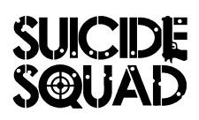 Vinyl Decal Truck Car Sticker Laptop Window - DC Suicide Squad